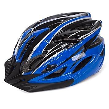 Babimax Casco de Ciclismo de 25 Respiraderos con Alta Estabilidad para Bicicleta Casco de Seguridad con