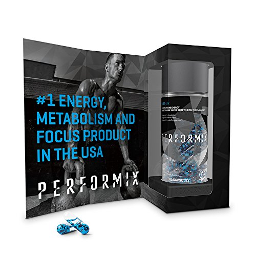 PERFORMIX SST v2X Suspension Super Thermogenic - 3 Patented Ingredients - Multi-Phase Release for Easy Absorption - Energy, Fat Burner, Mental Focus - 60 Capsules by PERFORMIX