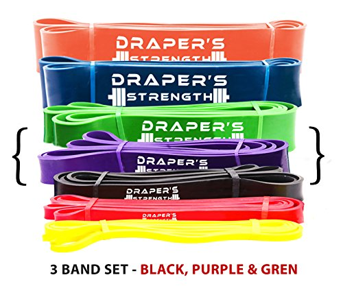 Draper's Strength Heavy Duty Pull up and Powerlifting Bands