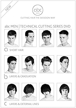 Vidal Sassoon Abc Cutting Hair The Vidal Sasson Way Mens Cutting Dvd Ntsc Region 0 Dvd Amazon Ca Dvd