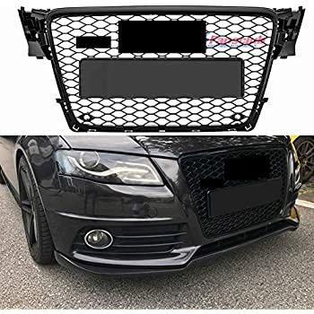 Amazoncom For Audi A4 Quattro Abs Plastic Honeycomb Mesh Style
