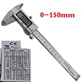 Metal 6-Inch 150mm Stainless Steel Electronic Digital Vernier Caliper Micrometer Measuring