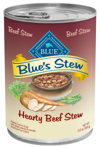 Blue Buffalo Hearty Beef Stew for Dogs, 12-1/2-Ounce, 12-Pack