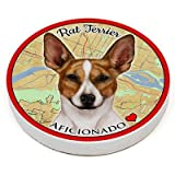 (Rat Terrier Brown And White Prick Ears) Pet Gifts