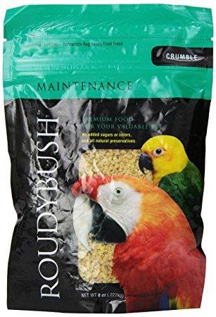 RoudyBush Daily Maintenance Bird Food, Crumbles (22 OZ)