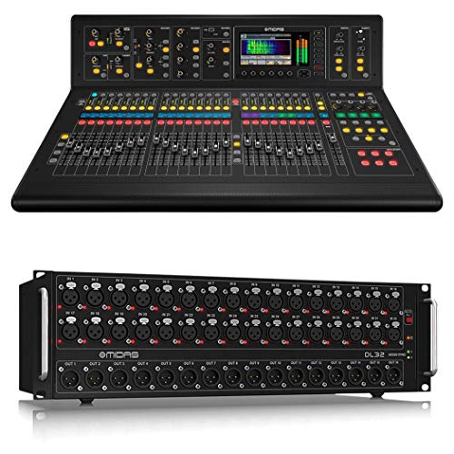 Midas M32IP 40-Channel Digital Mixing Console with Midas DL32 32-Input Digital Stage Box
