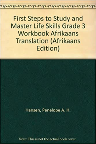 First Steps to Study and Master Life Skills Grade 3 Workbook ...