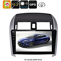 Generic 2 DIN Car Stereo Toyota Corolla - Octa Core CPU, 2GB RAM, 10. 2 Inch Touch Screen, CAN BUS, GPS, Bluetooth, Android 6. 0