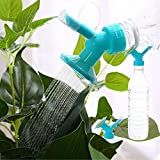 Lljin 2In1 Plastic Sprinkler Nozzle For Flower Waterers Bottle Watering Cans Sprinkler