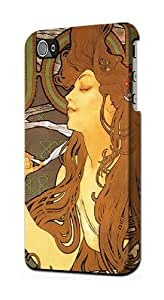 LJF phone case S0969 Alphonse Mucha Job Case Cover For iphone 6 4.7 inch