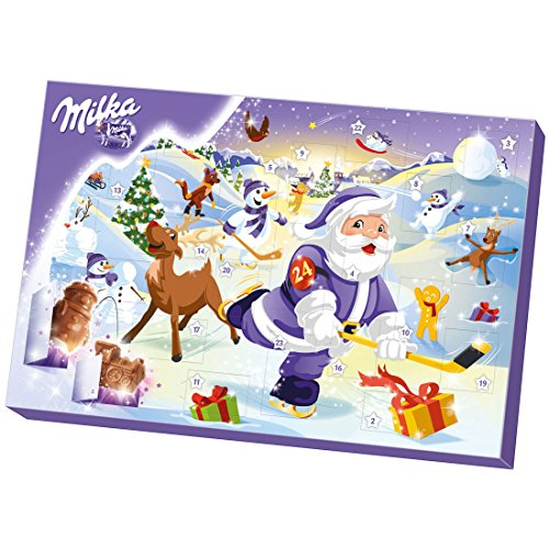 Milka Advent Calendar (Santa Hockey) 2017 (200g)