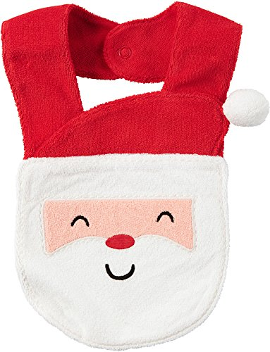 Carter's Santa Terry Teething Bib