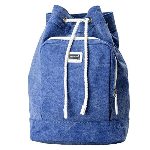 Dolce & Gabbana Blue Women's Drawstring Backpack Bag by Dolce & Gabbana