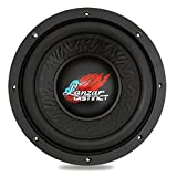10 inch paper cone subwoofer - Lanzar Car Subwoofer Audio Speaker - 10in Black Non-Pressed Paper Cone, Die Cast Aluminum Basket, 4 Ohm Impedance, 1000 Watt Power and Rubber Surround for Vehicle Stereo Sound System - DCTS104