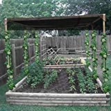 OriginA Shade Cloth 10x12ft Black 70% Sunblock -Cut Edge, Protect Your Plant for Greenhouse, Patio Sun Shades and Privacy Screen Fence