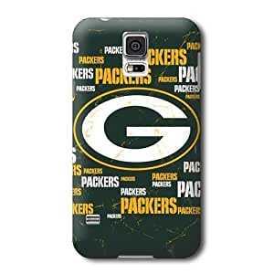 S5 Case, NFL - Green Bay Packers Blast - Samsung Galaxy S5 Case - High Quality PC Case