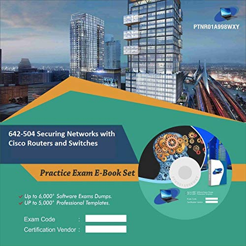 642-504 Securing Networks with Cisco Routers and Switches Online  Certification Video Learning Success Bundle (DVD)