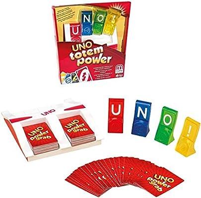 Mattel Juegos 900 x5794 uno Totem Game: Amazon.es: Juguetes y juegos