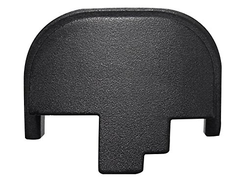 For Smith Wesson S&W M&P 9 40 45 Rear Slide Back Plate Black Plain