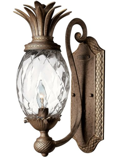 (Hinkley 4140PZ Leaf, Flower, Fruit One Light Wall Sconce from Plantation collection in)