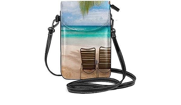 Archiba Monedero para teléfono Playa Hawaiana con Dos