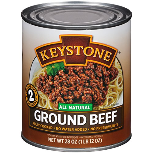 Keystone Meats All Natural Ground Beef, 28 Ounce ()