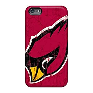 TrevorBahri Apple Iphone 6s Plus Scratch Resistant Hard Phone Cover Custom Nice Arizona Cardinals Pattern [PHc411Ital]