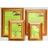 Wooden Oak Honey Colour Pine Photo Picture Frame A4 Certificate