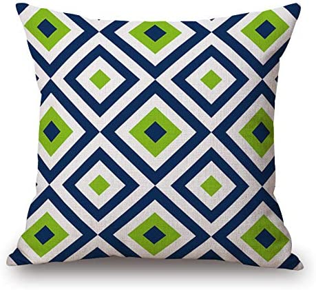 18/'/' Abstract Geometric Linen Throw Pillow Case Sofa Cushion Cover Home Decor #1