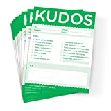 "Support a ""Growth Mindset"" by giving KUDOS when people take a risk, stick with a problem, make great contributions, show improvement, take the time to do things right, and more. KUDOS Green notes are perfect for long-term projects, processes,..."
