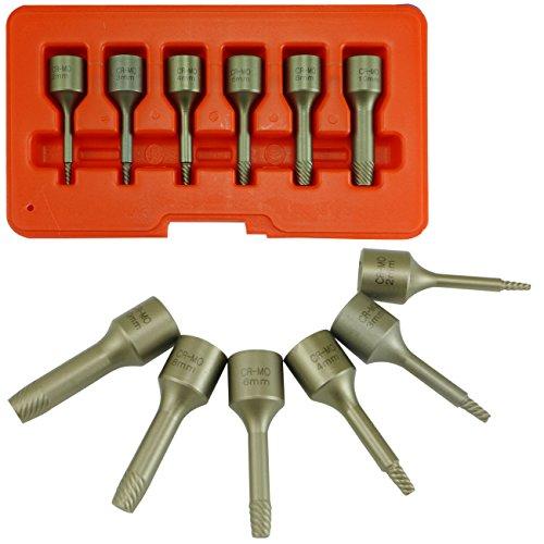 Screw Extractor Impact Socket | 6pc Set 3/8