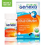 Genexa Homeopathic Cold Crush for Children: The Only Certified Organic Kids Cold