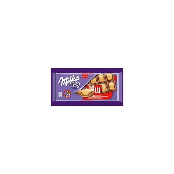 Milka Chocolate con Galletas LU - 35 gr