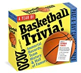 A Year of Basketball Trivia! Page-A-Day Calendar 2020: Immortal Records, Team History & Hall-of-Famers: more info