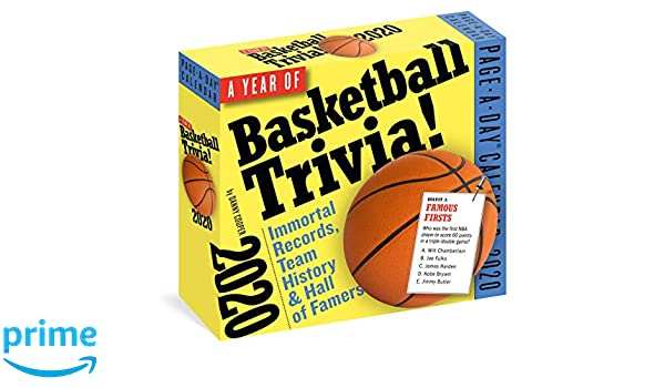 2020 Hoops! 365 Days of Basketball Trivia Page-A-Day ...