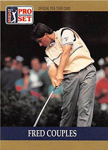 Fred Couples trading card (Golf Golfer PGA University of Houston) 1990 Pro Set #53 (Golf Card Pga)
