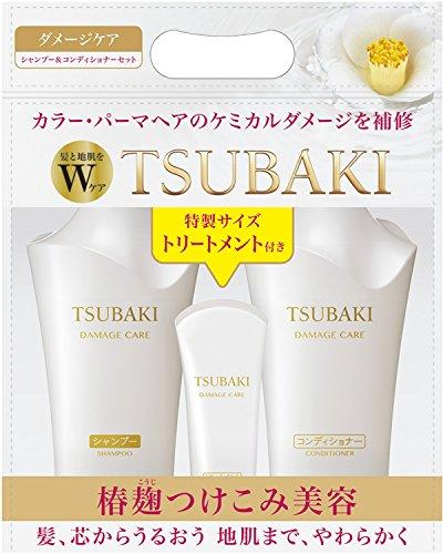 Shiseido TSUBAKI JAPAN TSUBAKI Damage Care Shampoo and Co...