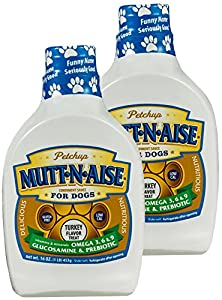 Mutt-n-aise Nutritional Condiment for Dogs (Turkey Flavor) - 16 oz. - 2 bottles