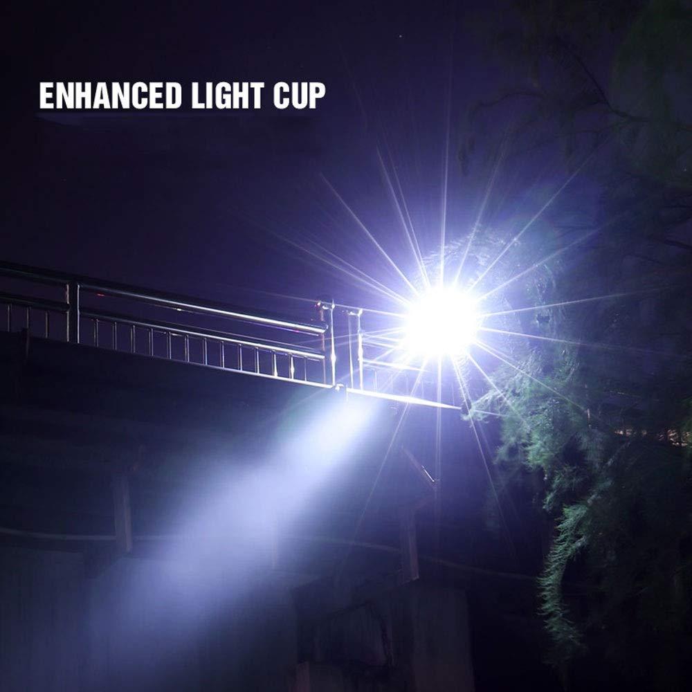 WPCBAA WPCBAA WPCBAA Multifunktionale LED wiederaufladbare Taschenlampe XML 2 Taschenlampe 350 Lumen 26650 Batterie im Freien Camping Power LED Taschenlampe (Farbe   5W) B07QB7BFV7 | Der Schatz des Kindes, unser Glück  65cfc3