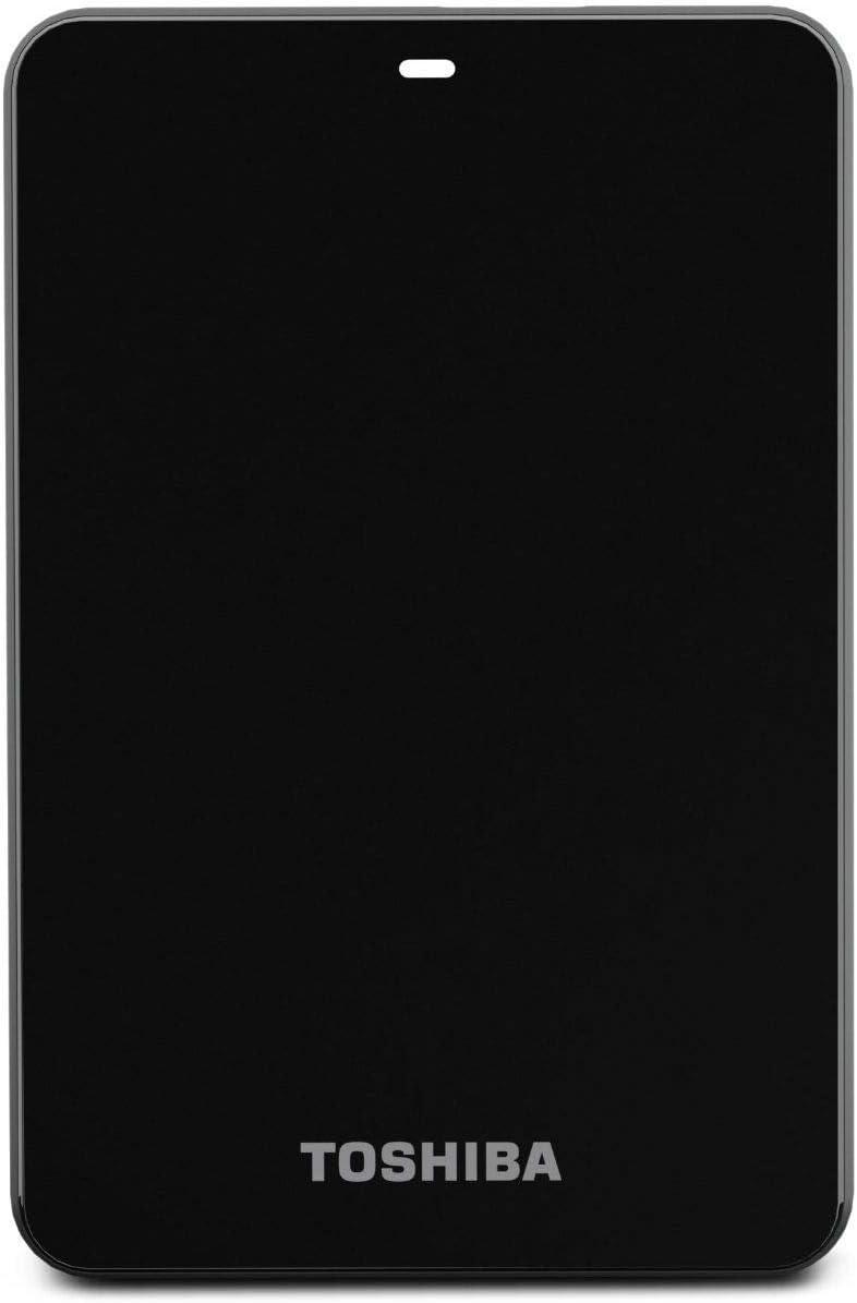 سعر هاردسك خارجي Toshiba Canvio لون أسود فى السعودية بواسطة امازون السعودية كان بكام