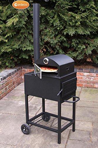 Neu Forno Stahl Outdoor Pizza Ofen Garten Terrasse Fire Holzofen