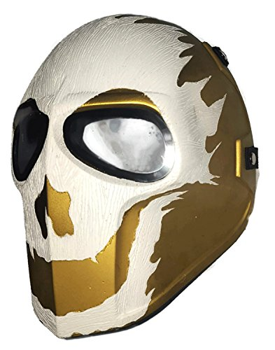 [Army of Two Airsoft Mask Protective Gear Outdoor Sport Fancy Party Ghost Masks Bb Gun] (Deathstroke The Terminator Costume)