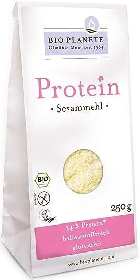 Harina de sésamo con alto contenido en proteínas (sin gluten ...
