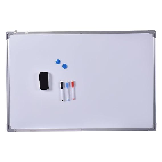 Whiteboard Selber Bauen costway whiteboard magnettafel schreibttafel pinnwand wandtafel