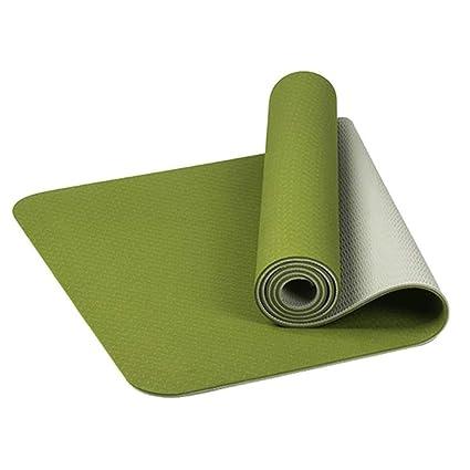 VSousT Caucho Natural Antideslizante Estera de Yoga 6mm TPE ...
