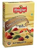 Five Star Custurd Powder 100 Gram Box-Butter Scotch Pack Of 4
