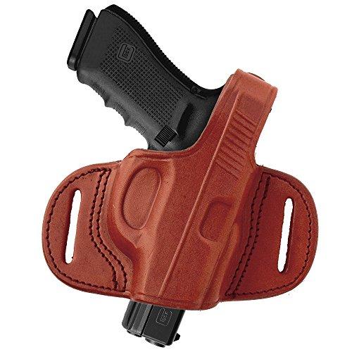 Tagua BH1M-1012 Mini Thumb Break Belt Holster, S&W Shield 9mm&40mm, Brown, Right Hand
