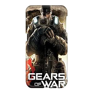 Samsung Galaxy S6 Kor168cjhW Support Personal Customs Attractive Gears Of War 3 Image Shock-Absorbing Hard Phone Covers -RandileeStewart