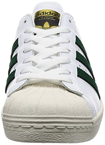 Superstar 80s Scarpa gold green white adidas gpdwvqg