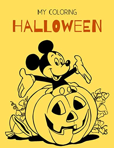 Halloween Mini Books Printables (MY COLORING HALLOWEEN: Halloween coloring book for kids Ages 4-8 and 7-9 also printable Halloween coloring book)